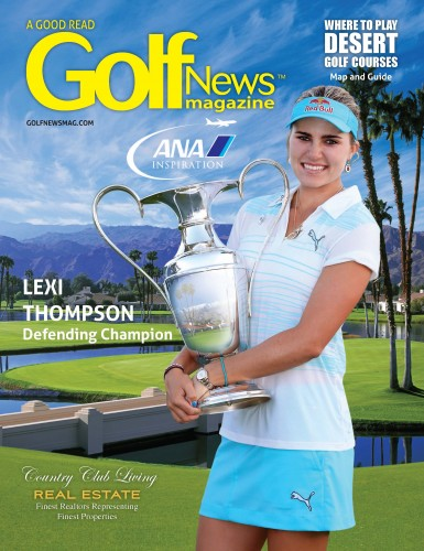 Golf News April cover