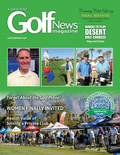 Golf News Magazine Feb cover