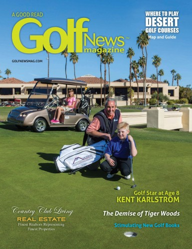 Golf News Magazine March cover