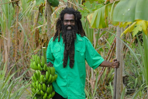 Erie st kitts banana man